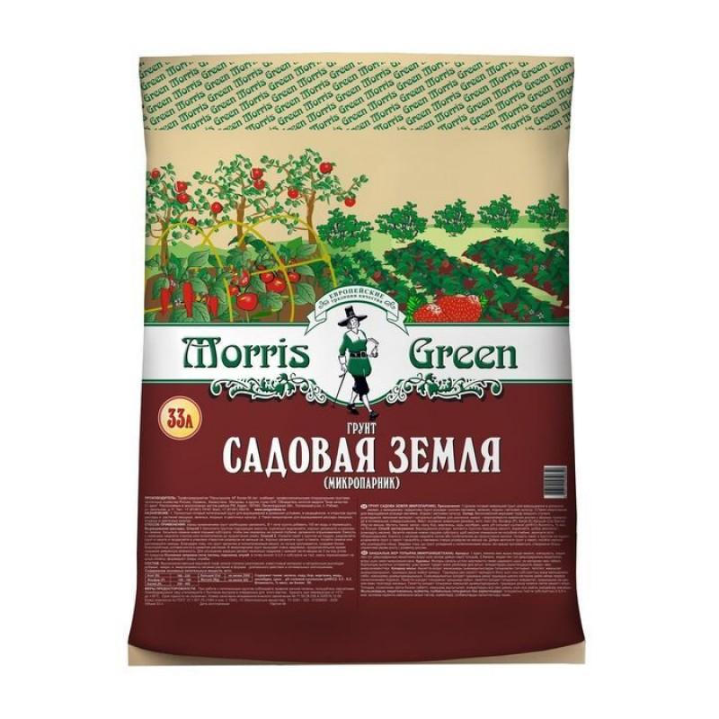 Почвогрунт торфяной «Morris Green» садовая земля (микропарник) 33 л.