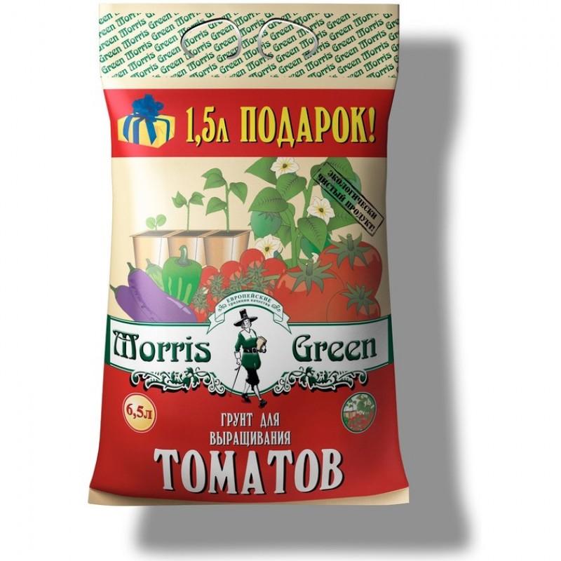 Почвогрунт торфяной «Morris Green» для томатов 6,5 л.